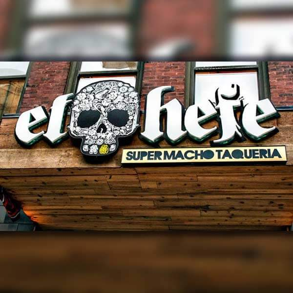 El Hefe Supermacho Taqueria opening May 22nd in Chicago on Hubbard